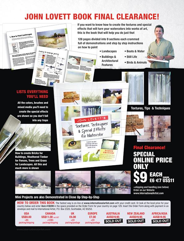 International Artist Magazine Art Materials Instruction Locator